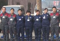 东方电器海尔中央空调金牌监理团队