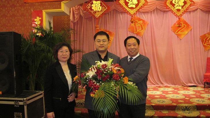海尔集团副总参加东方电器举办的东方之夜答谢宴会