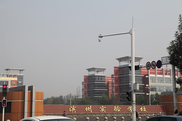 滨州实验学校学术中心14000平米日立中央空调工程案例