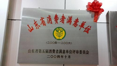 东方电器获山东省第五届最佳单位