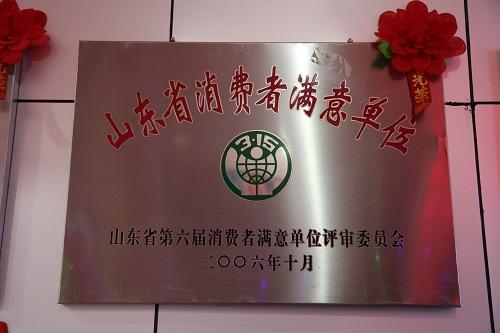 东方电器获山东省第六届最佳单位