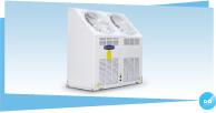 格力HU系列斜上出风户式风冷冷(热)水空调机组