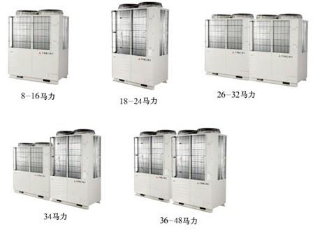 三菱重工海尔KX4超级多联楼宇智能中央空调